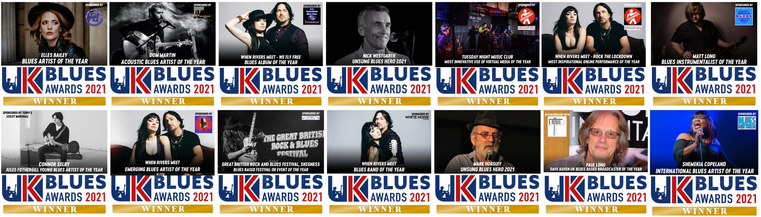 All Winners UKBlues Awards 2021