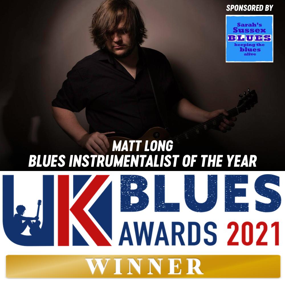 Matt Long Uk Blues Awards